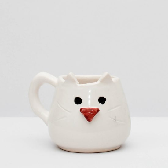 Mate gatito blanco GP Diseño