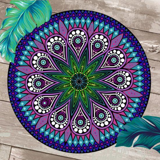 manta Mandala azul GP Diseño
