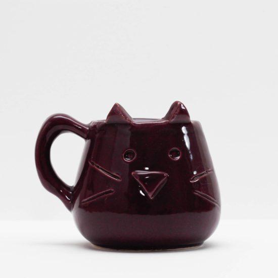 Mate gatito violeta GP Diseño