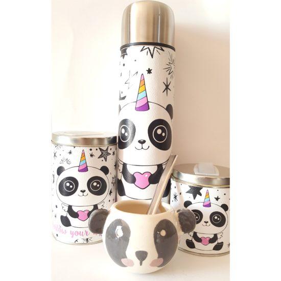 Set Pandicornio con mate cerámica GP Diseño 1