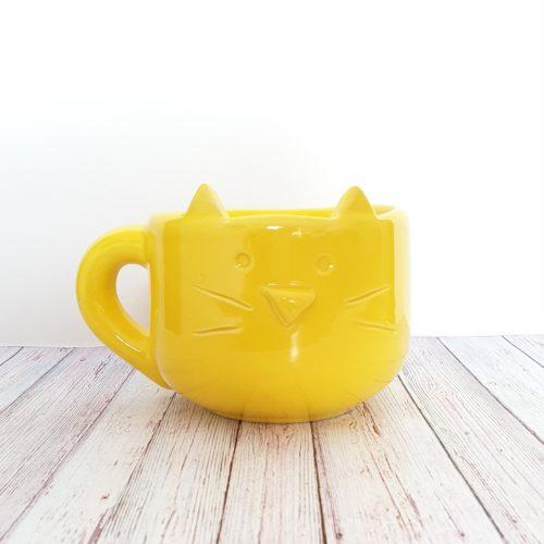 tazon gatito amarillo GP Diseño 1