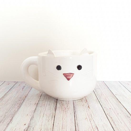 tazon gatito blanco GP Diseño 1