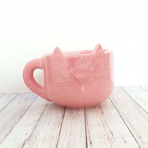 tazon gatito rosa GP Diseño 1