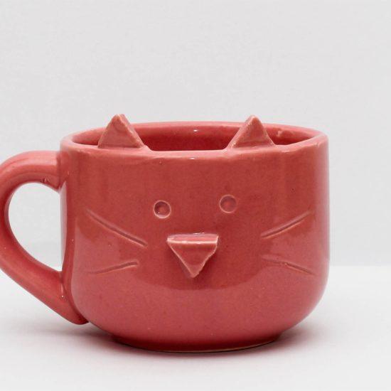 tazon gatito rosa GP Diseño