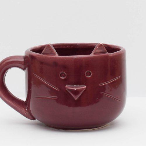Tazon gatito violeta GP Diseño