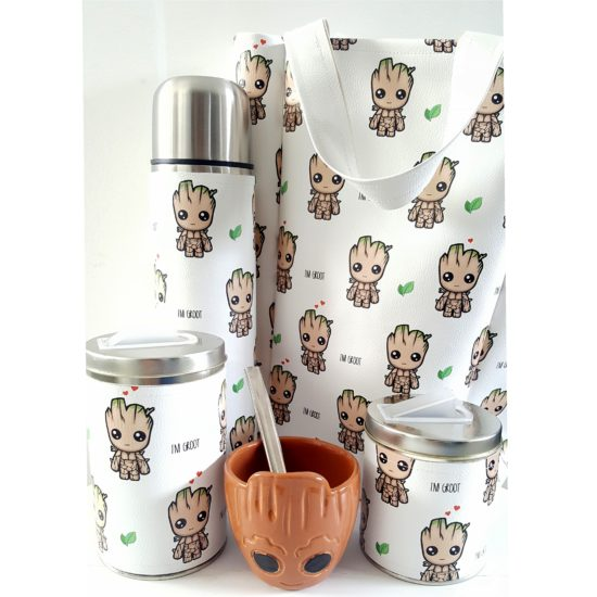 Set groot mate cerámica con bolso GP Diseño