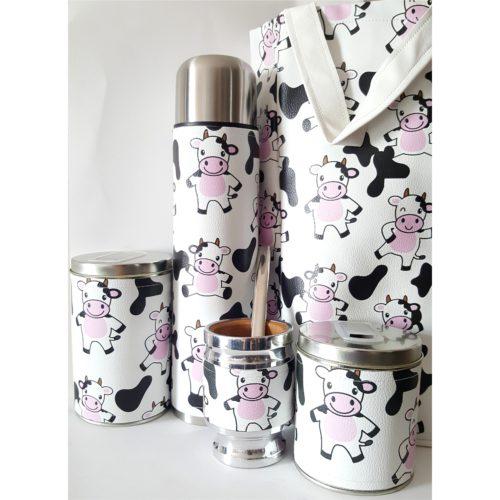 Set vaquitas con bolso GP Diseño