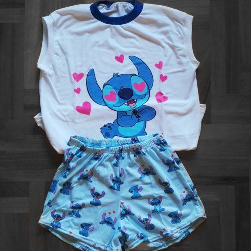 Pijama Stitch corto GP Diseño