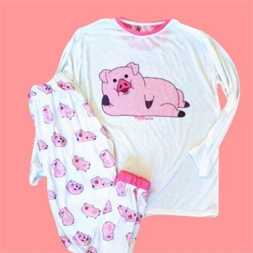 Pijama Chanchito Largo GP Diseño 4
