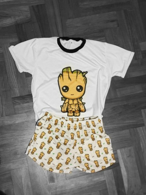 Pijama Groot Corto GP Diseño