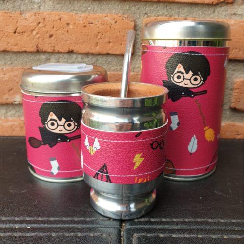 par de latas harry + mate GP Diseño