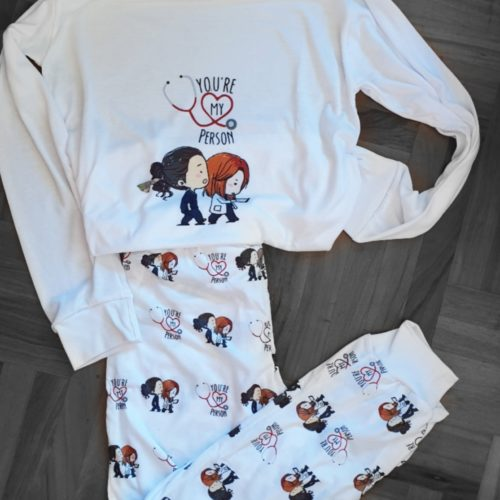 Pijama Greys Anatomy Largo GP Diseño