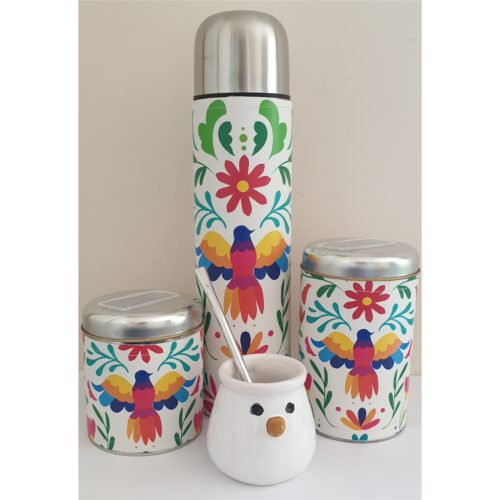 Set Matero Spring con mate ceramica GP Diseño
