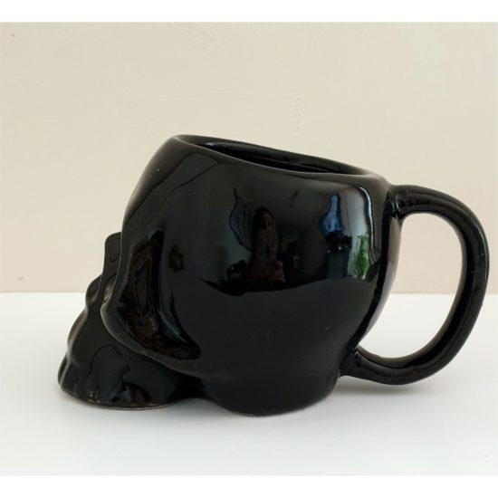 tazon calavera negro GP Diseño