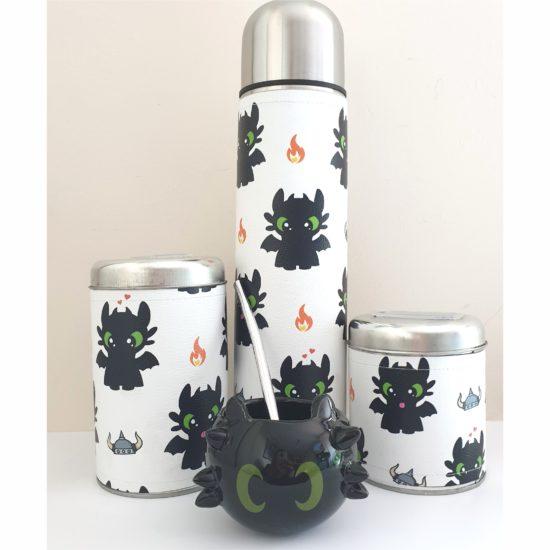 Set chimuelo +mate cerámica GP Diseño