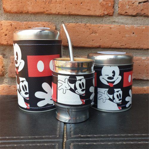 par Latas + mate Mickey GP Diseño