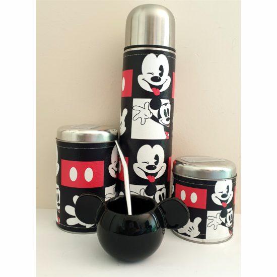 Set matero Mickey mate cerámica GP Diseño
