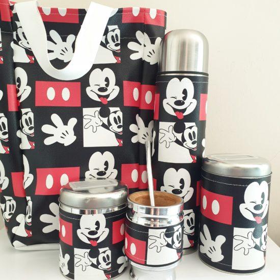 Set Matero Mickey + bolso GP Diseño