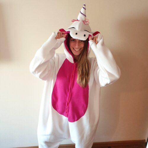 PIjama polar unicornio GP Diseño