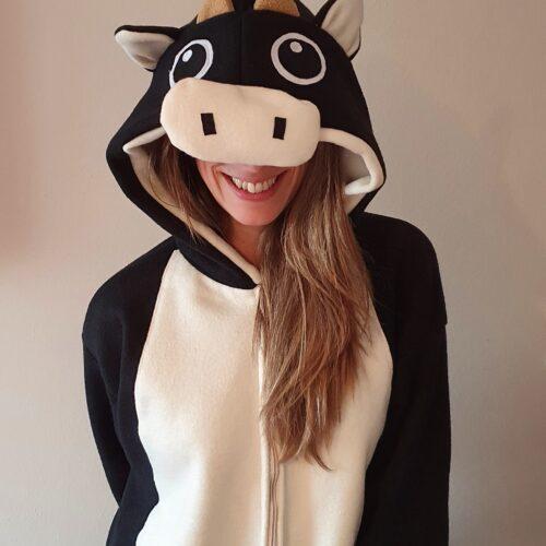 Pijama polar vaquita GP Diseño