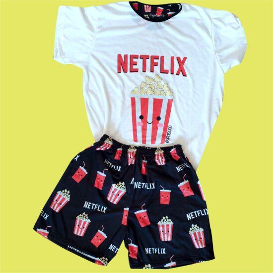 Pijama Netflix corto GP Diseño
