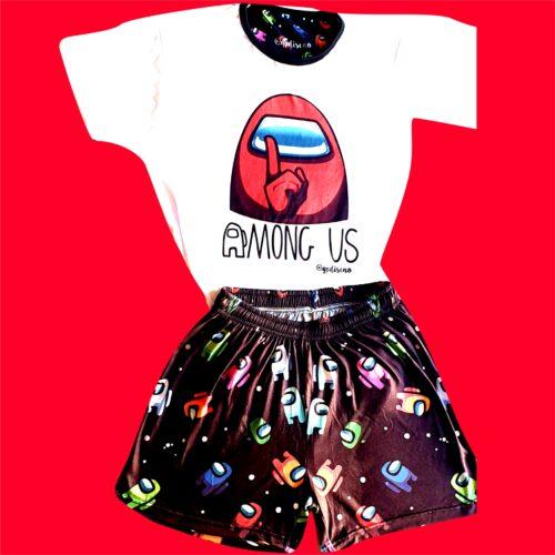 Pijama Among us corto GP Diseño