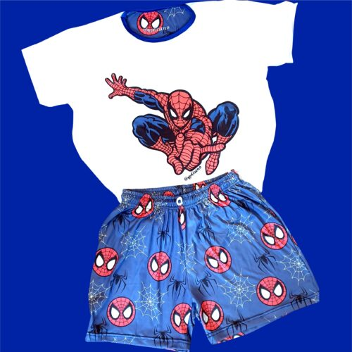 Pijama hombre araña corto GP Diseño