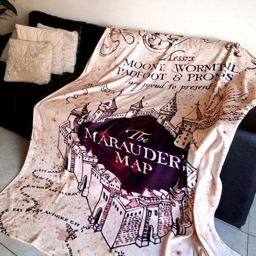 Manta Polar Mapa Harry Potter GP Diseño