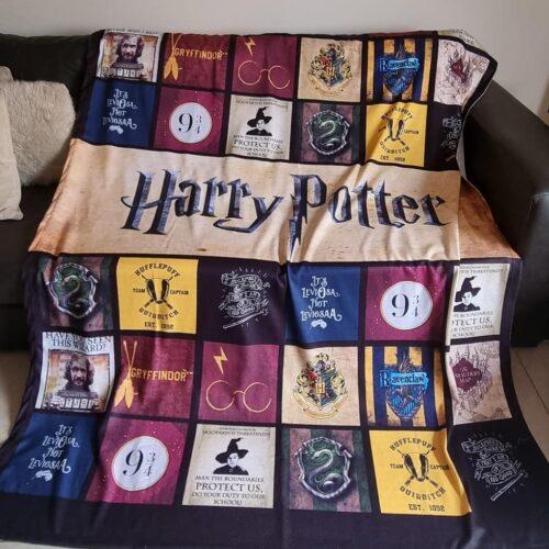 Manta Polar Harry Potter GP Diseño